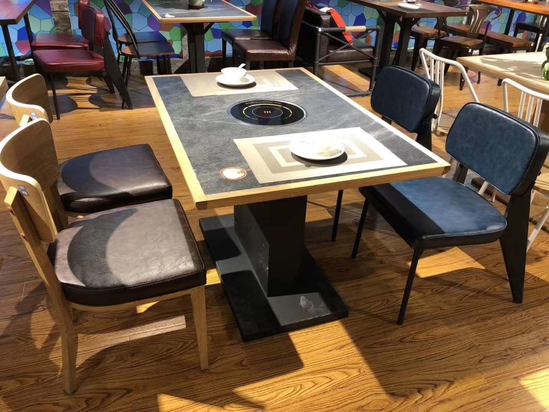2020新款火锅桌椅定制 2020新款火锅桌椅图片大全
