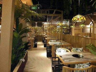椰子鸡卡座沙发桌椅达芬家具定制400-6962-114