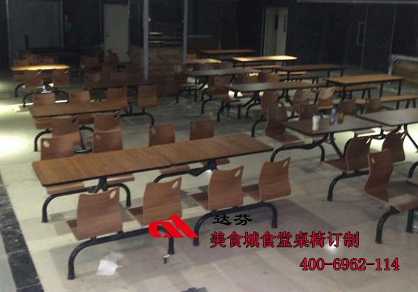 深圳罗湖美食城桌椅