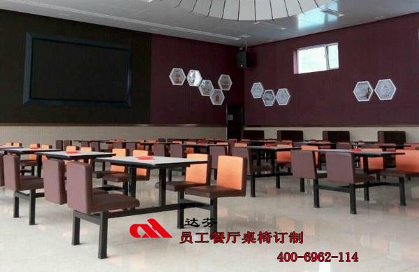 员工食堂餐桌椅-A级效果
