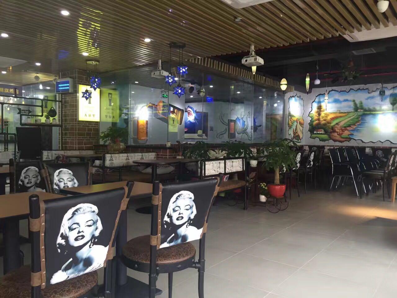 韩国大邱里.主题餐厅桌椅