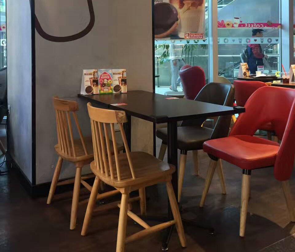 咖啡文化馆.甜甜圈餐桌椅