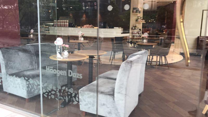 CF咖啡店.布艺沙发椅