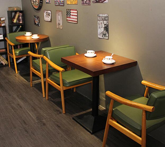 coffee休闲餐厅桌椅