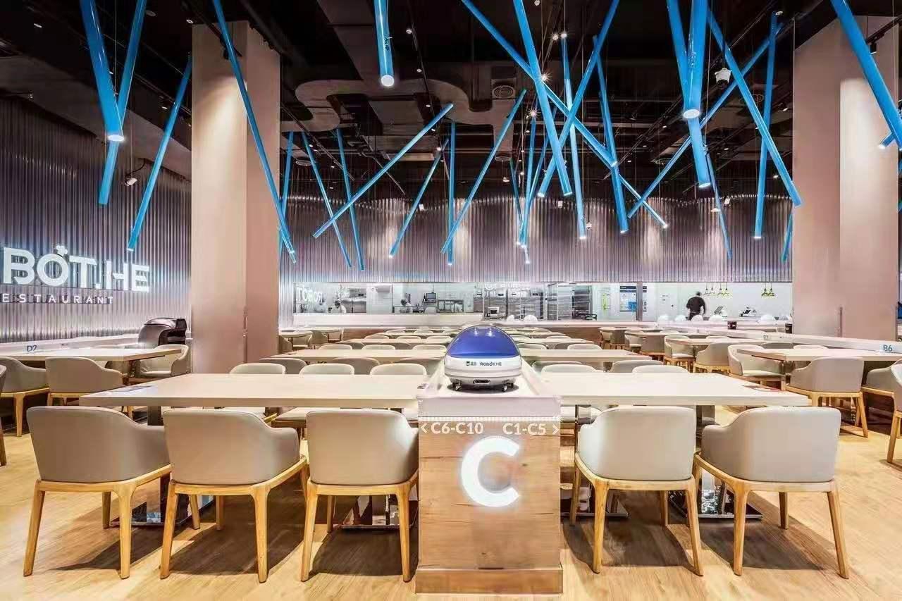 工业大学食堂桌椅配置