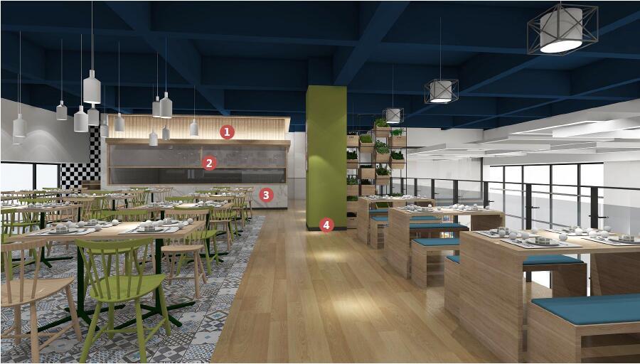 交通大厦食堂桌椅方案