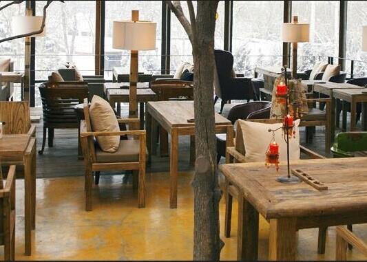漫咖啡家具,慢咖啡桌椅,古董桌椅