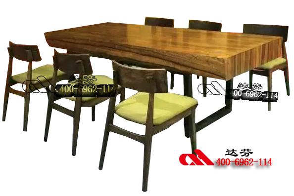SM319-仿实木大板桌