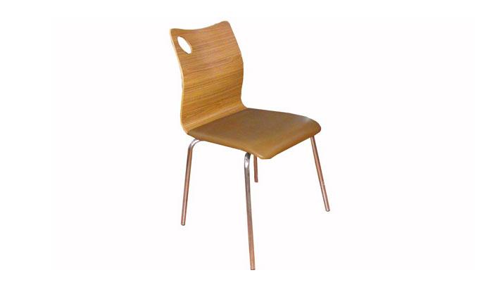 肯德基椅子曲木弯板椅