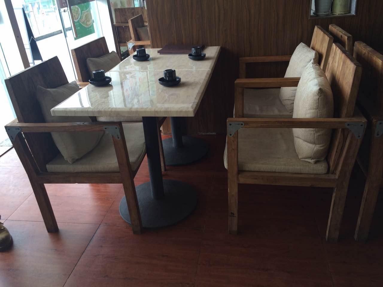 仿古实木餐椅[来图订做]