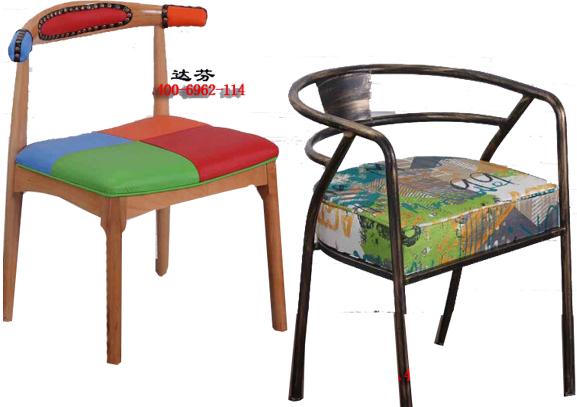 实木餐椅.铁艺餐椅