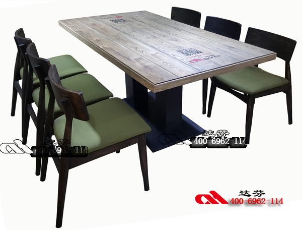 SM306-做旧实木桌子