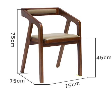 SM-342实木达尔椅