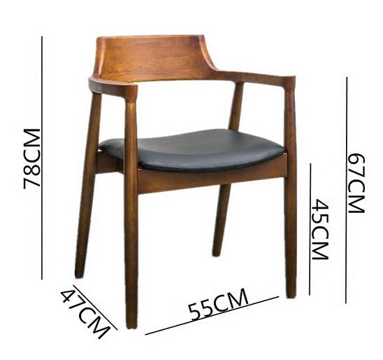 SM-343实木广岛椅