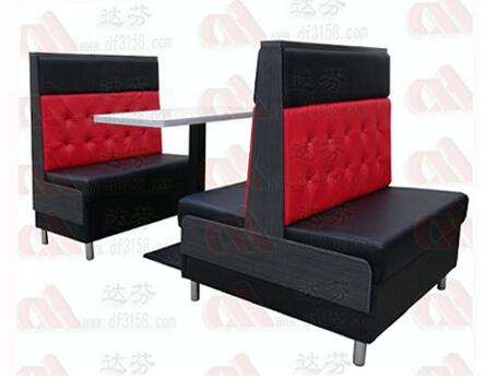 茶餐厅卡座沙发017C