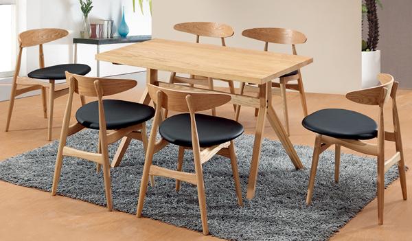 DF017-504 实木桌椅