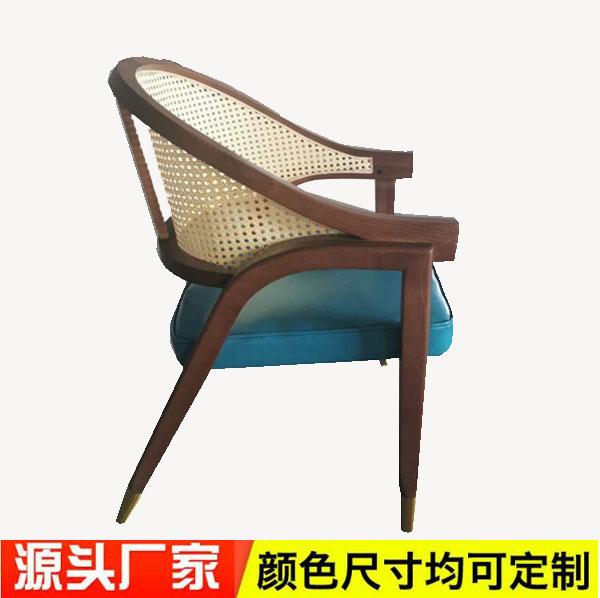 D达芬云编藤餐椅2021-D02