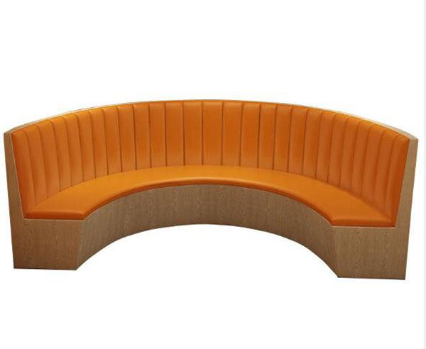 D弧形沙发卡坐2021-D03