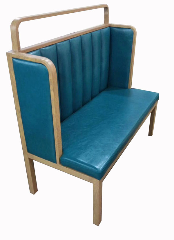 C铁艺木纹沙发卡座2021-C01